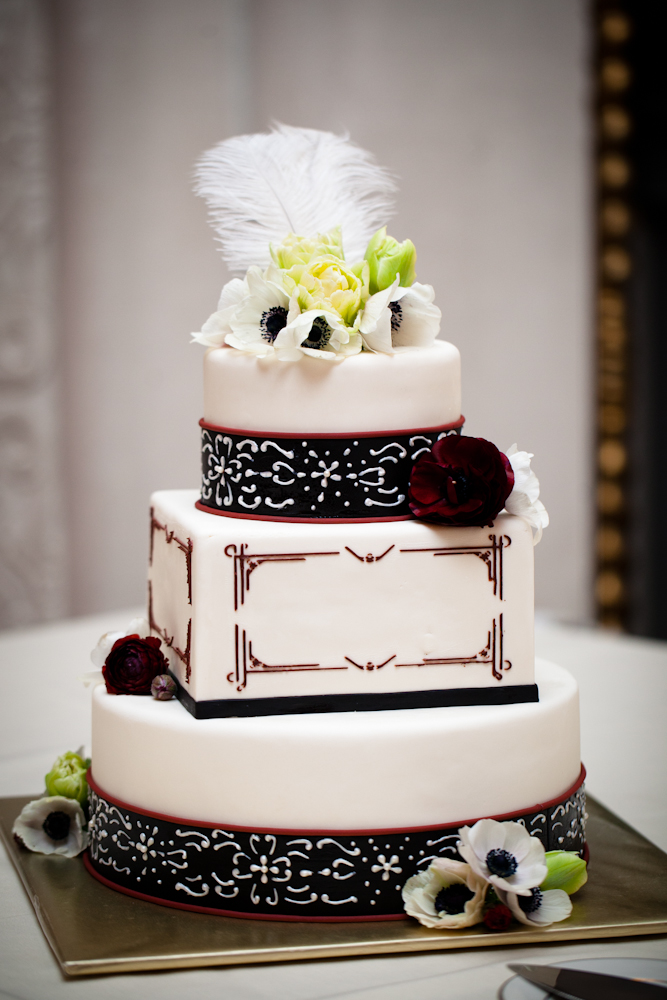 Art Deco Cake - Laurie Clarke Cakes