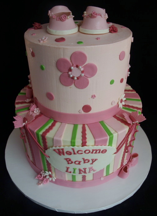 pics photos baby girl shower cakes ideas and pictures