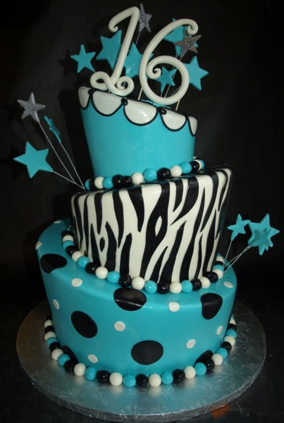 Custom Birthday Cakes - Laurie Clarke Cakes, Portland, OR