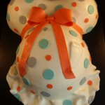 Pregnant Belly Cake, Torso Cake, Baby Shower Cake, Pregnant Stomach Cake