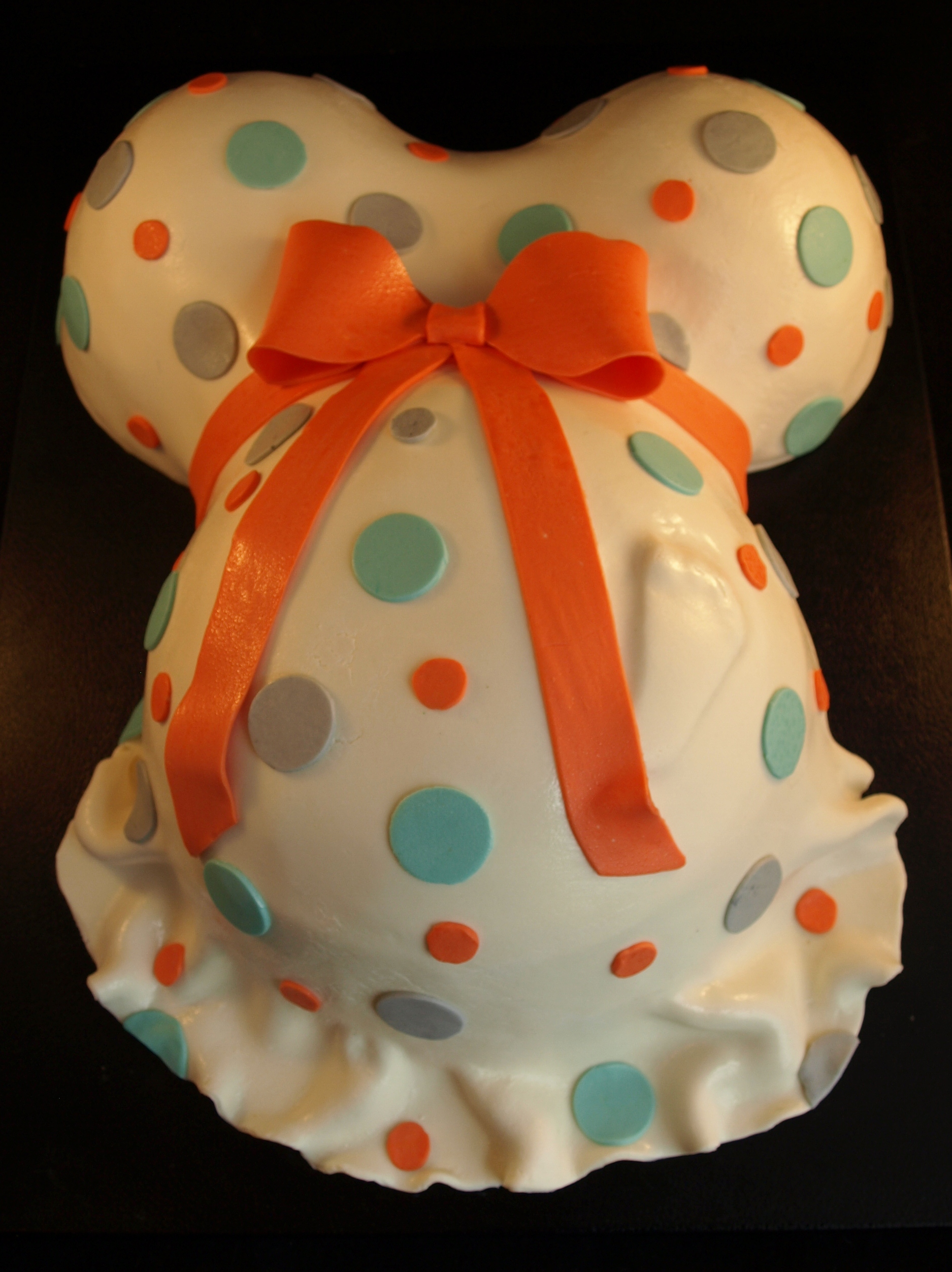 How To Make Belly Cakes For Baby Shower