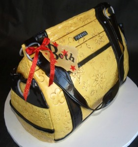 Handbag Cake, womens birthday cake