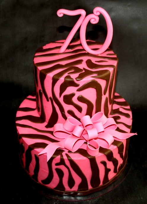 Zebra Birthday Cake Portland OR