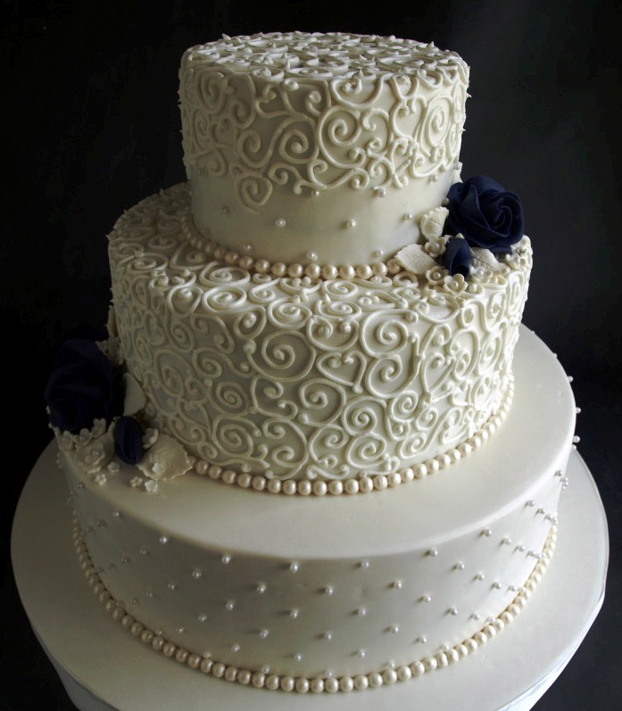Scrollwork Patterns For Cakes