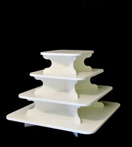 Square Cupcake Stand Tower Rental Portland OR 97034
