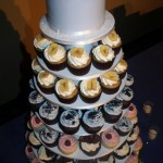 Wedding Cupcakes and Pinecone Cake