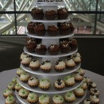 Elegant Wedding Cupcake Tower
